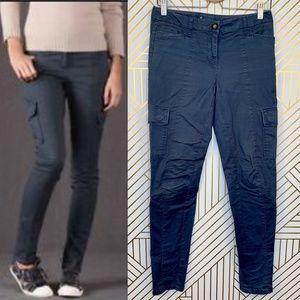 Boden Combat Cargo Pants in Payne's Grey Skinny